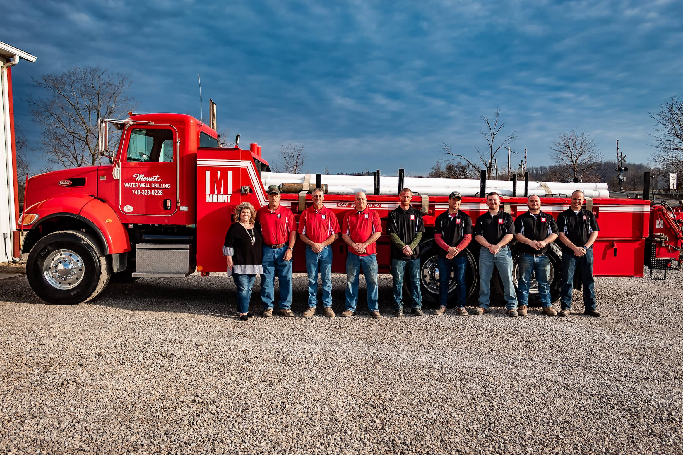 Mount Drilling and Water Treatment Staff 1