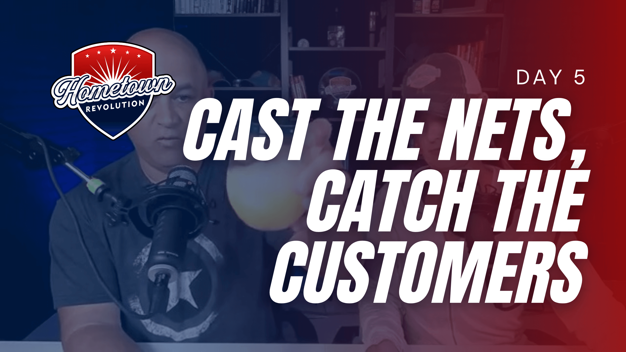 cast the net catch the customers with pat and angie cherubini